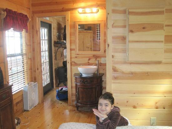 Cabins of Asheville: other view of bedroom