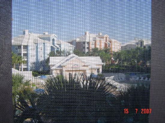 Cypress Pointe Resort: View from our studio (slept 3)