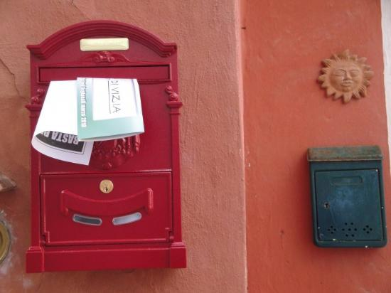 You've got mail.  Lerici, Italy.