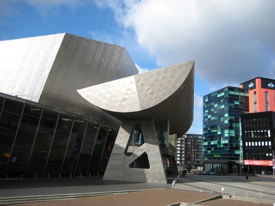 Excellent But Note The Comment On Quays Theatre Stalls Tier Seating B1 Review Of The Lowry Salford England Tripadvisor
