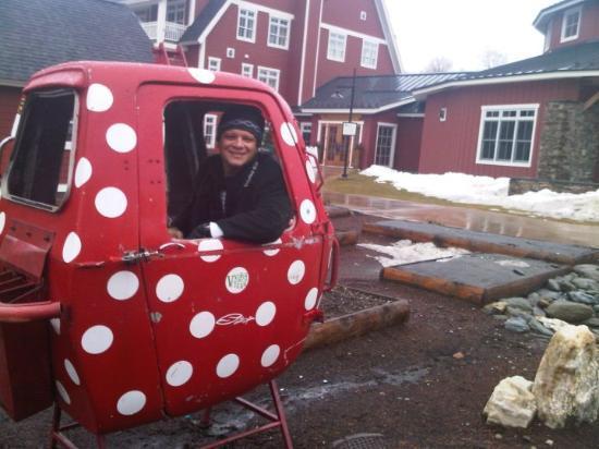Warren, Вермонт: Verga pargulis funicularis !!!!!