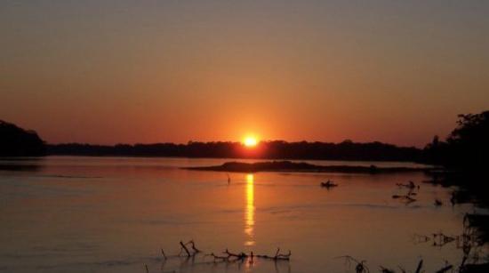 Iquitos, Peru: Sunset in Amazonia