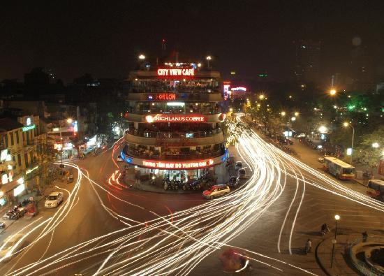 Win Hotel: Hanoi from Illy Cafe rooftop bar