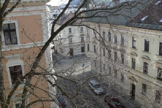 Hotel Mozart : view from window