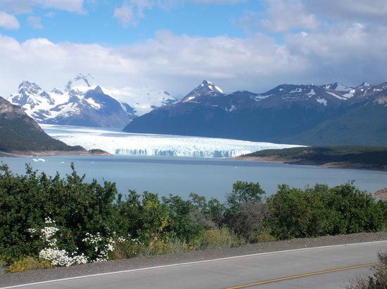 El Calafate, Argentinien: prima foto dal pulmino del Perito Moreno