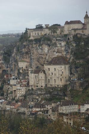 Rocamadour, France: vista desde L´Hospitalet