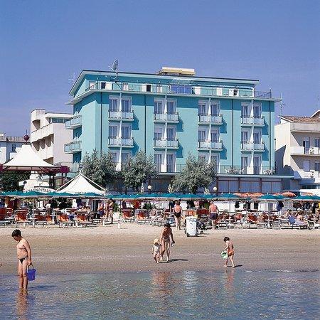Bellaria-Igea Marina, Italie : Facciata