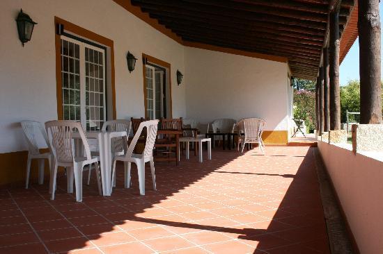 Quinta da Alcaidaria-Mór: Terrace