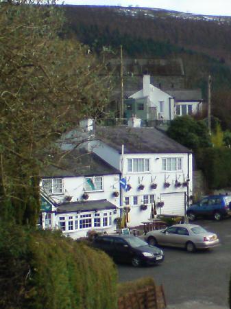 Britannia Inn : Hotel overlooking the valley