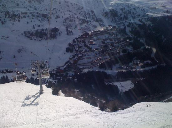 Chalet Hotel Tarentaise : View from cable car