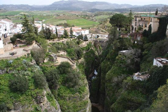 Hotel Molino: View of Ronda
