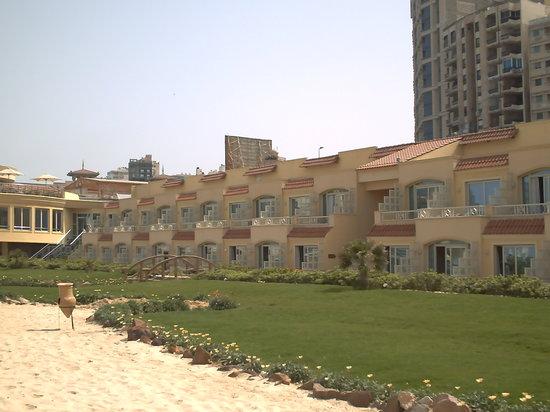 Mediterranean Azur Hotel: l'hotel n'a qu'un seul étage