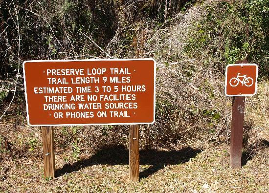 Holiday Inn Express Crystal River: one trail head