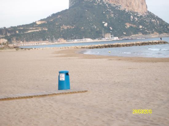 Pension El Parque: The Beach