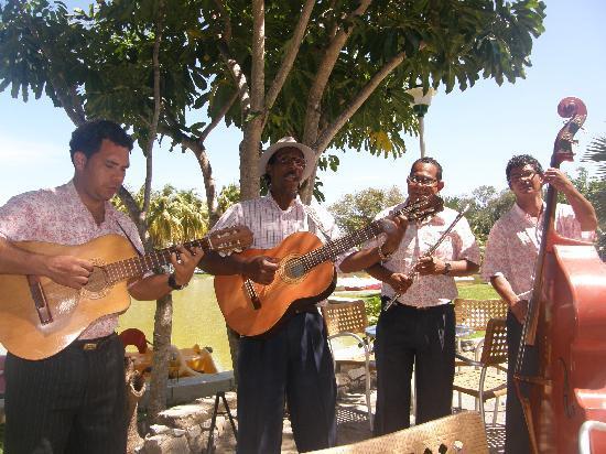 Melia Las Americas: Band in Josone Park