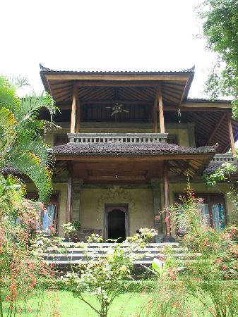 Sidemen, Indonesien: Upstairs room with great balcony
