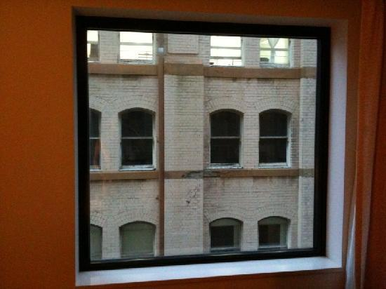 Mercure Sydney: The view from my room - very poor!