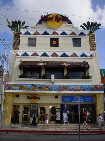 Hard Rock Cafe Cozumel Map