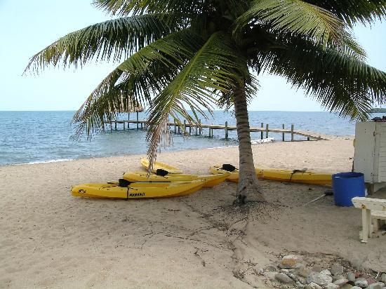 The Lodge at Jaguar Reef: Kayaks and small sailboat available