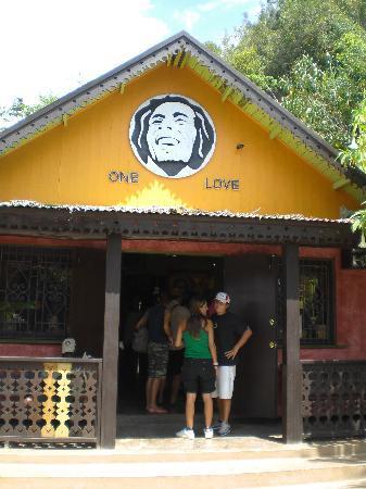 Sunset at the Palms: Casa Bob Marley