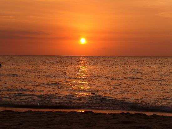 Sunset at the Palms: tramonto