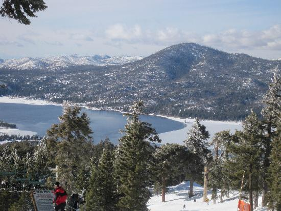 Big Bear Cool Cabins : A view from the Top