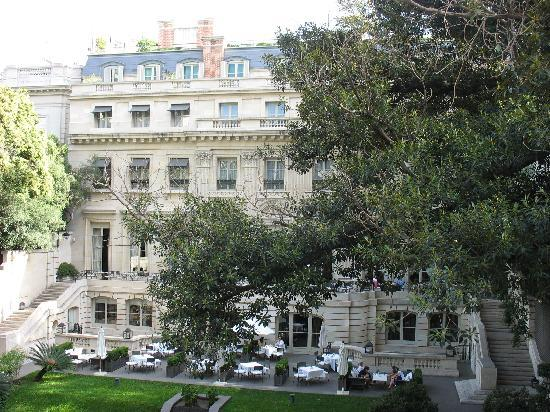 Palacio Duhau - Park Hyatt Buenos Aires: Overlooking the Mansion from Our Suite