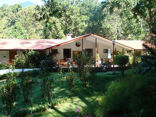 Cielito Sur Bed and Breakfast: view of B and B gardens