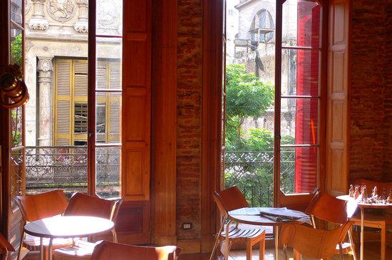 La Antigua Casa de Brigit: Aufenthaltsraum - auch zum Frühstücken