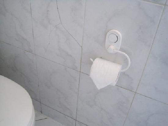 Hotel Longchamps: With neatly folded toilet paper ^_^