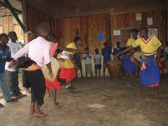 Buhoma Lodge: Buhoma Village; some of the children at the orphanage school