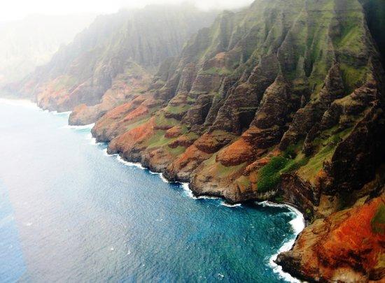 Blue Hawaiian Helicopters - Kauai : The coastline