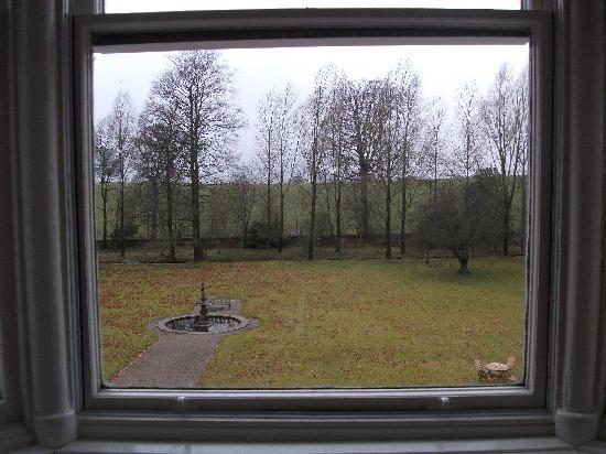 17th Century Orton Hall: View from Living Room Window