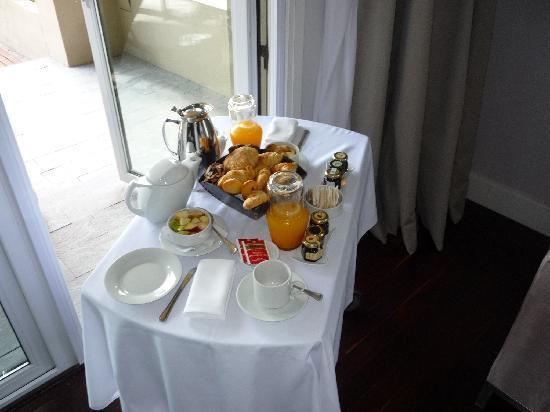 Sofitel La Reserva Cardales: Desayuno en la habitacion