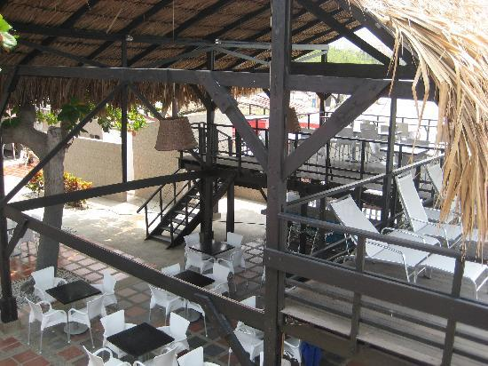 Hotel Tequendama Inn Santa Marta by Sercotel: Area del restaurante