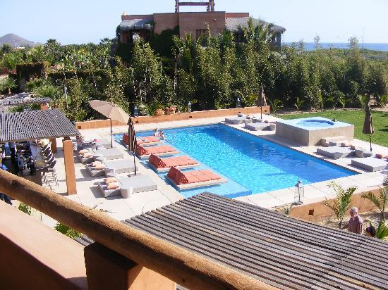 Rancho Pescadero : view of pool from room