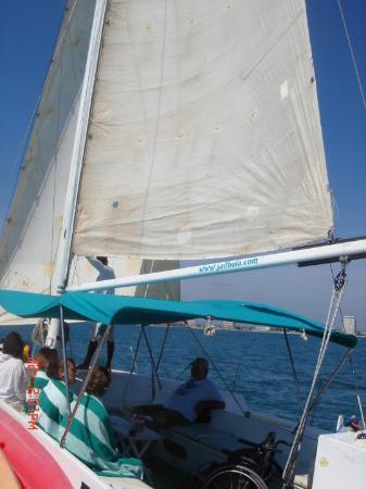 Bula: El velero en el q fui a la Isla del venado
