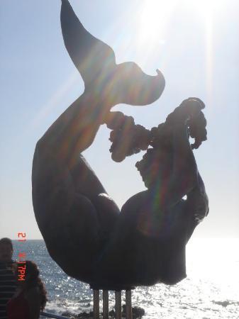 Old Mazatlan: Una de las muchas estatuas q hay en Mazatlan.