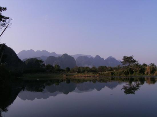 Bilde fra Vang Vieng