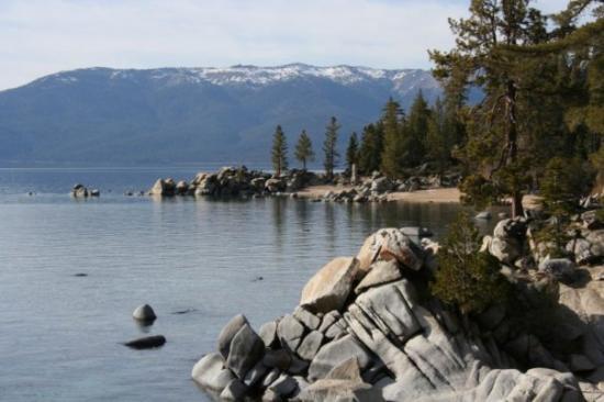 Tahoe Rim Trail: This is Lake Tahoe, CA Spring, 2008