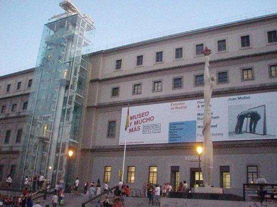 Museo Nacional Centro de Arte Reina Sofía: Il Palazzo che ospita la collezione del Reina Sofia
