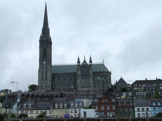Cobh Cathedral: St Colmans Cathedral in Cobh, 15 miles from Cork City.