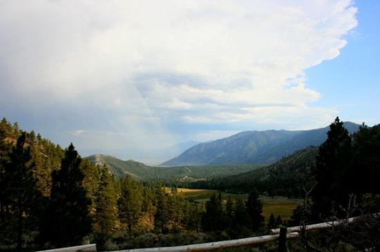 Clouds at Kings Canyon, near Carson City, NV 7/28/09