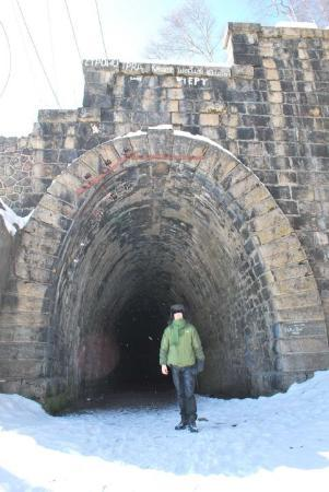 Irkutsk, Russland: old tunnel