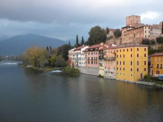 Bassano del Grappa on a cool autumn day.