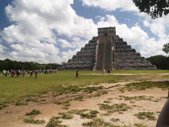 Bilde fra Kulkulcan-pyramiden