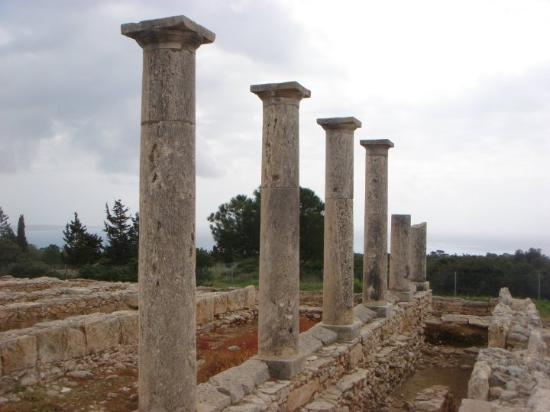 Limassol, Kypros: Temple of Apollo Hylates, Kourion