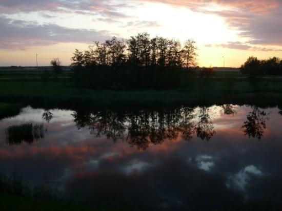 Volendam, sunset