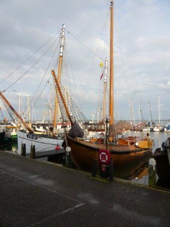 Fishing boats, Volendam