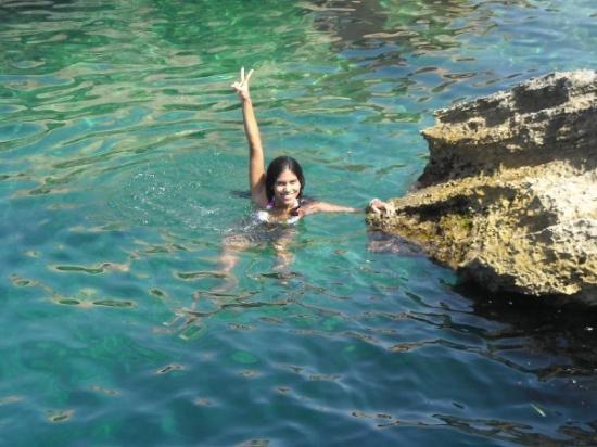 Playa de Cala Bassa: No me partí la cabezaaaaaa!!! Yupiiiiiiiiii =P